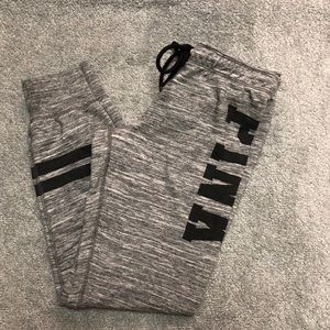 PINK ankle length joggers- small